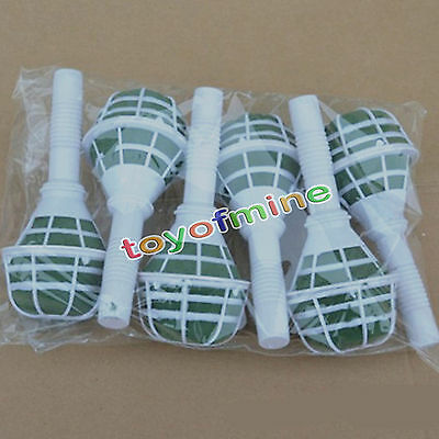 Brand New 1/6pcs Bridal Wedding Flower Decoration Bouquet Foam Holder Handle