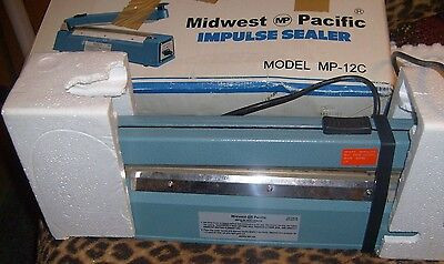 "Midwest Pacific Impulse Heat Sealer 12"" Model MP-12C"