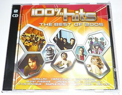 100% HITS THE BEST OF 2005, CD in very good condition.