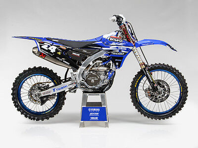2014-17 Yamaha YZF 250/450 Shaun Simpson MXGP factory ENJOY GRAPHIX KIT