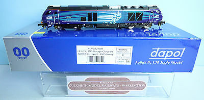 Dapol 'oo' 4D-022-001 Class 68 002 'intrepid' Drs Livery Loco New & Boxed