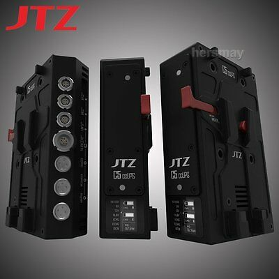 JTZ DP30 C5 CCUPS V-Mount Power Supply BP Battery Plate DSLR Rig For Camcorders