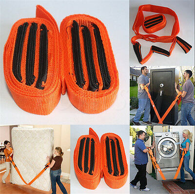 1 Pair Forearm Forklift Lifting And Moving Straps Easily Carry Furniture Heavy
