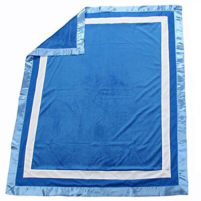 ONGP-1018B021-One Grace Place Simplicity Blue Medium Quilt, Blue, Light Blue, W