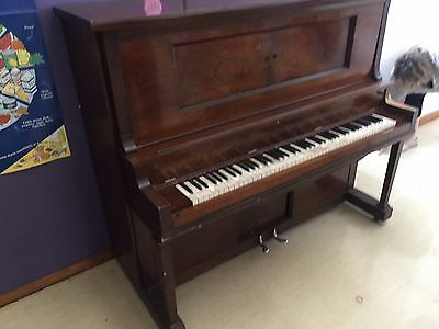 PIANOLA - vintage piano - must go - good stool