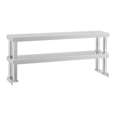 Spare Shelf Two Shelves Additional Shelves Work Surface Shelves Stainless Steel