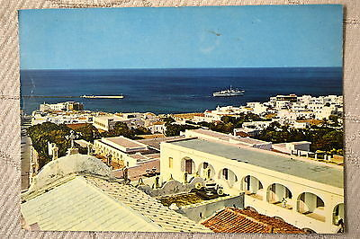 "CPM "" TINOS - Vue vers le Port"
