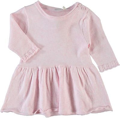 -50 % Name It Lacey Baby Kleid Strick Feinstrick rosa  Gr. 56 62 68 74 80 86