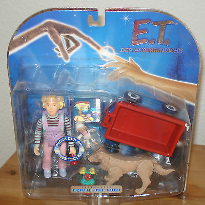 E.T. The Extra Terrestrial Interactive Gertie & Dog Figures Toys R Us 2001