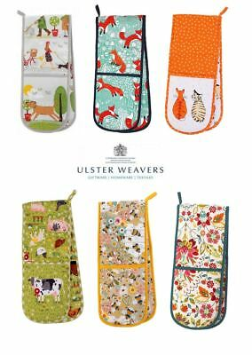 Ulster Weavers Cotton Double Oven Gloves in Various Designs