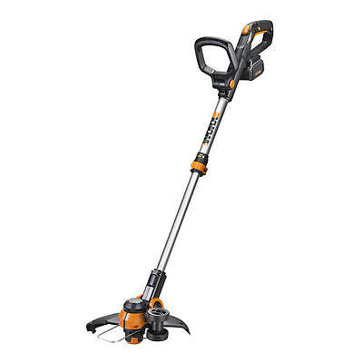 "WORX WG180 40V Powershare 12"" Cordless String Trimmer / Edger wtih Command Feed"