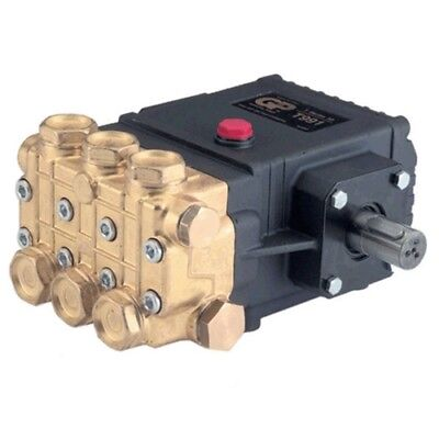 General Pump T991 Pump, Triplex, 3.5GPM@1400PSI, 1450 RPM, 24mm Solid Shaft