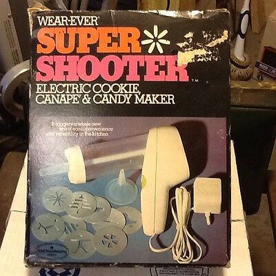 VTG Wear Ever Super Shooter 70001 Cookie Press Canope Candy Box Complete