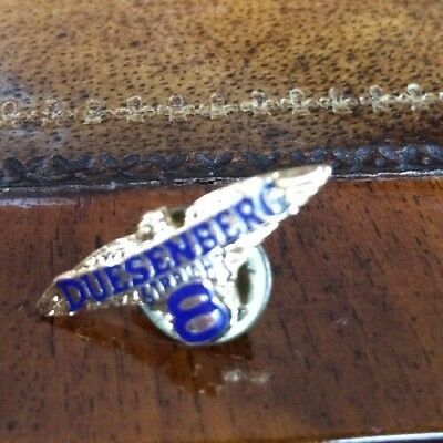Duesenberg Automobiles Straight 8 Lapel Or Hat Pin Tie Tack