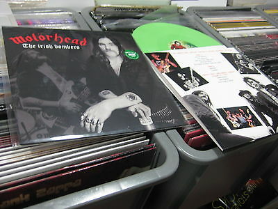 Motorhead Lp The Irish Bombers Limited Edition Green Vinyl Numbered
