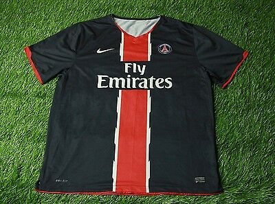 31a45a4878a Paris Saint-Germain Psg 2010/2011 Football Shirt Jersey Away Nike Original