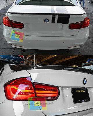 Spoiler Sul Cofano Bmw Serie 3 F30 Berlina Look M Sport In Abs