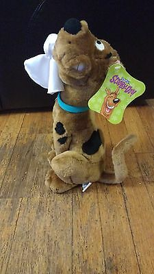 "Warner Bros. Scooby-Doo With Ghost 14"" Plush Hanna-Barbera EUC w/Tag"