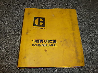 Caterpillar CAT 966 Wheel Loader Tractor Bucket Shop Service Repair Manual Guide