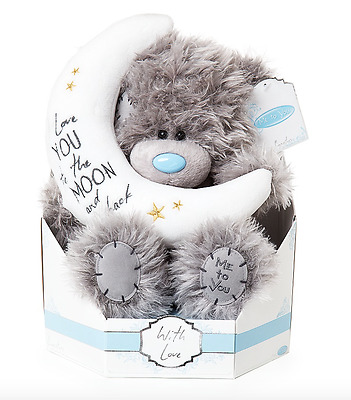 Me to You Tatty Teddy Bear Love You To The Moon and Back Plush In Box Gift