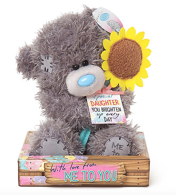 Me to You Tatty Teddy Bear Special Daughter with Sunflower Plush Bear