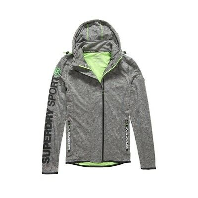 Sweat Capuche Superdry Sports Athletic Steel Grey