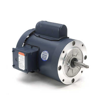 1HP 3450 RPM 56 Frame 115//230V TEFC Leeson Electric Motor ~NEW~*FREE SHIPPING*
