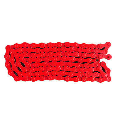 """G695 Bicycle MTB BMX Road Bike 1/2""""X 1/8"""" Fixied Chain Single Speed 96 Link Red"""