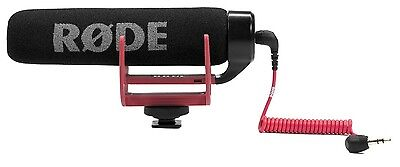 Rode VideoMic GO Lightweight On-Camera Microphone Rycote Lyre Suspension DSLR