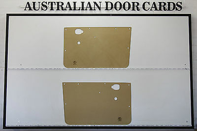 Mazda 1000 Ute Door Cards. Blank Trim Panels