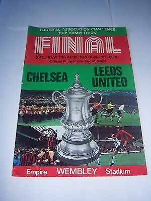 1970 FA CUP FINAL - CHELSEA v LEEDS UNITED - FOOTBALL PROGRAMME