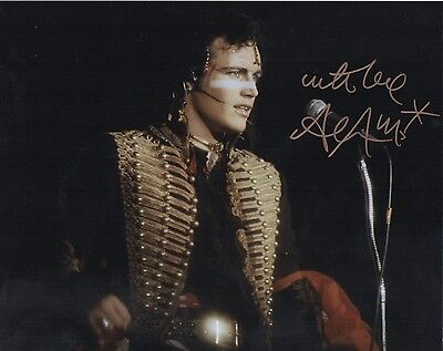 Adam Ant   Signed 10-8  Photo