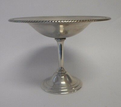 Vintage FORBES SILVER CO.Pedestal Bowl Candy Nut Bowl  Dish - VERY NICE!