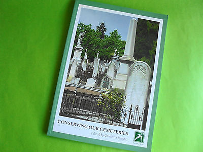 CONSERVING OUR CEMETERIES NATIONAL TRUST 1st ED LIKE NEW