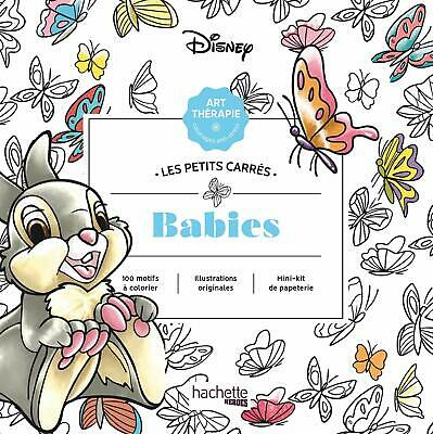 Disney Babies Adult Colouring Book Cute Little Animals Kittens Puppies Bunny