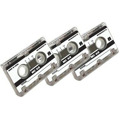 Axis 58020 60-Minute Micro Cassette Tapes, 3 Pack