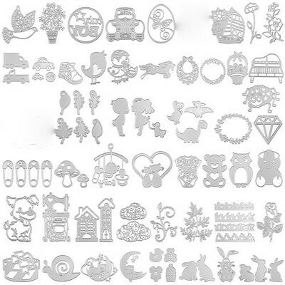 DIY Metal Cutting Dies Scrapbooking Album Home Decor Paper Craft Template 2017