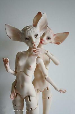 Limited Time Discount  1/4 BJD fantasy Doll sphynx cat Free eyes + Face Up