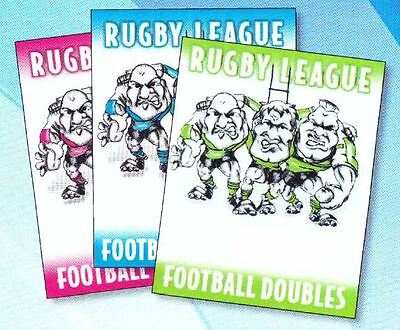 Rugby League Football Doubles (Home/Opposition) - 3 sets