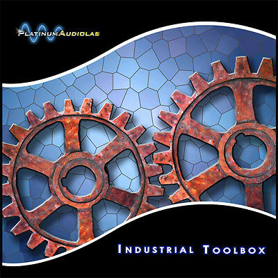 Loud Industrial Drum Synth FX Hit Loops Sound Sample Library CD Akai S1000 S3000