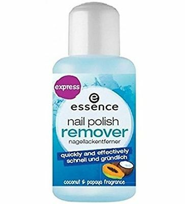 Essence Nail Polish Remover With Coconut & Papaya -Fast, Gentle, Thorough! 150ml