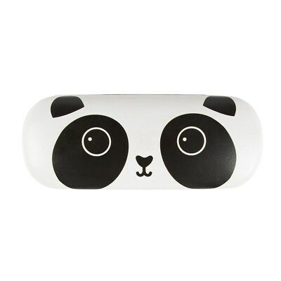 Kawaii Panda Hard Glasses Case Cute Girly Girl Black and White Adorable