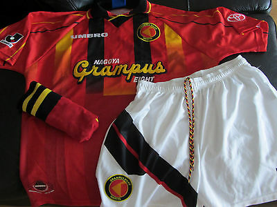 1996 Nagoya Grampus Eight Football KIT - Large - shirt shorts socks