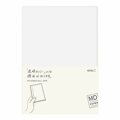Designphil Midori MD Notebook Cover A5 Clear 49360006 Import JAPAN