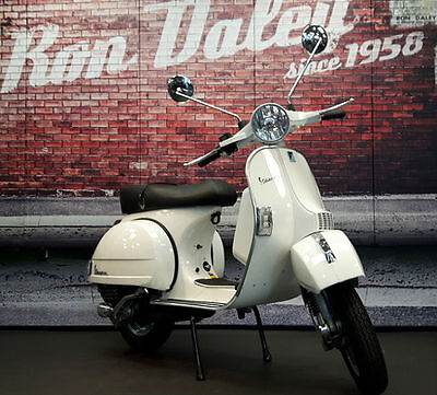 New Vespa Piaggio PX200  conversion Ron Daley . Built to order White only
