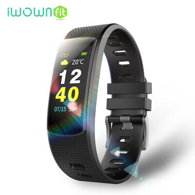 IWOWN I6 hr IP67 Impermeable Deporte Bluetooth Banda Inteligente For Android IOS