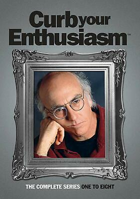 Curb Your Enthusiasm Complete Collection Series 1-8 DVD Box set Season UK NEW R2
