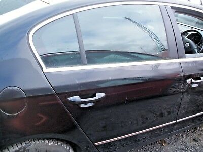 2007 VOLKSWAGEN PASSAT B6 2.0 TDi DRIVERS REAR DOOR IN BLACK LC9X
