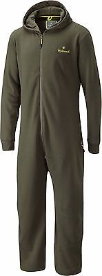 Wychwood Onesie Green Zipped Fishing Reduced Drying Time All In One Sleep Suit