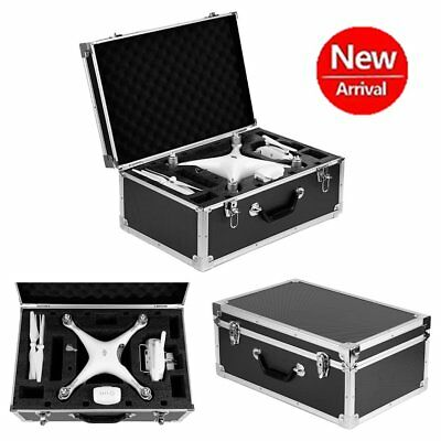Aluminum Box Case Flight Briefcase With Lined Black Color 550 x 360 x 250mm New